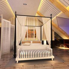 Guest room 017 3D Model