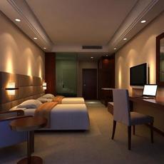Guest room 018 3D Model