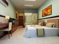 Guest room 031 3D Model