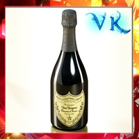 Champagne Dom Perignon Bottle 3D Model