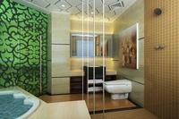 Guest room bathroom 005 3D Model