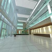Lobby 001 3D Model