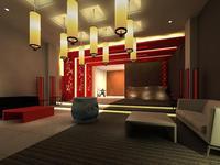 Lobby 005 3D Model