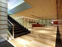 Lobby 018 3D Model