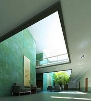 Lobby 022 3D Model