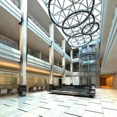 Lobby 033 3D Model