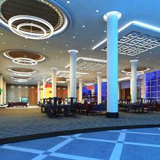 Lobby 038 3D Model