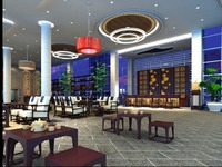 Lobby 040 3D Model