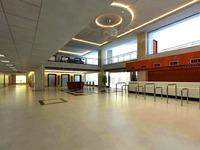 Lobby 046 3D Model