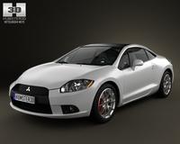 Mitsubishi Eclipse 2012 3D Model