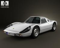 Porsche 904 1964 3D Model