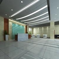 Lobby 062 3D Model