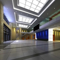 Lobby 063 3D Model