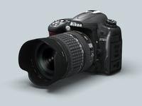 Nikon D7000 3D Model