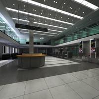 Lobby 068 3D Model