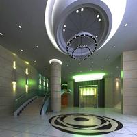 Lobby 070 3D Model