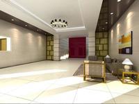 Lobby 071 3D Model