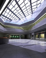 Lobby 073 3D Model