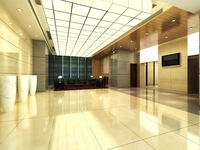 Lobby 078 3D Model