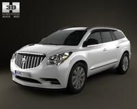 Buick Enclave 2013 3D Model