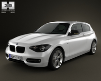 BMW 1 Series (F20) 3-door 2012 3D Model