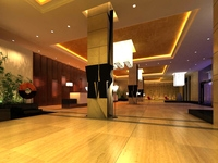 Lobby 091 3D Model