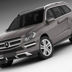 Model Mercedes GL 2013 3D Model