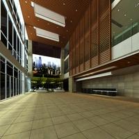 Lobby 095 3D Model