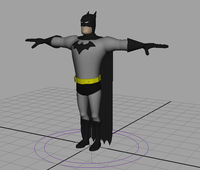 Batman Rig 1.0.0 for Maya