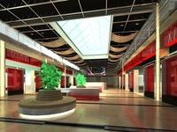 Lobby 102 3D Model