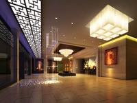 Lobby 106 3D Model