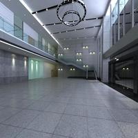 Lobby 118 3D Model