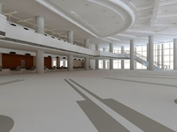 Lobby 121 3D Model