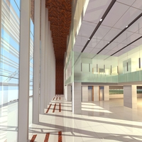 Lobby 211 3D Model