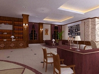 Lobby 215 3D Model