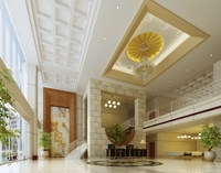 Lobby 231 3D Model