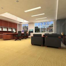 Office 003 3D Model