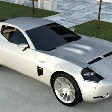 Ford Shelby GR-1 3D Model