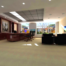 Office 004 3D Model
