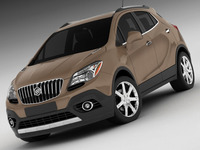 Buick Encore 3D Model