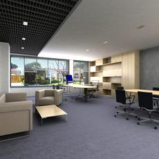 Office 007 3D Model