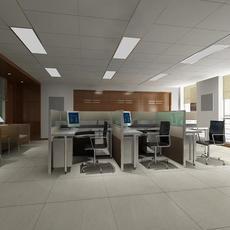 Office 008 3D Model