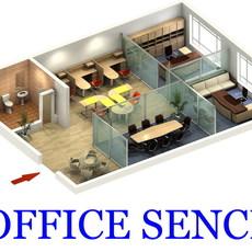Office 029 3D Model