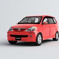 Toyota avanza 3D Model