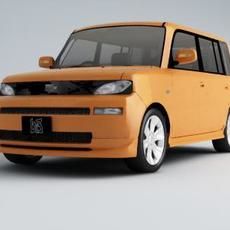 Toyota BB 3D Model