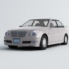 Toyota Brevis 3D Model