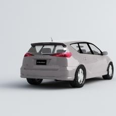 Toyota Caldina 3D Model