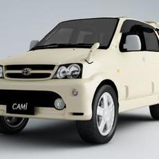 Toyota Cami 3D Model
