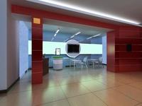 Office 052 3D Model