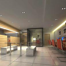 Office 054 3D Model